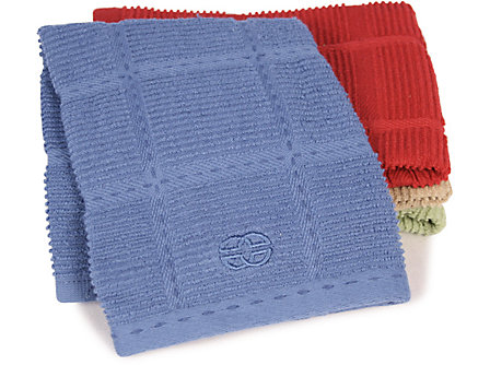 Calphalon 17x30-in. Terry Towel: Blueberry