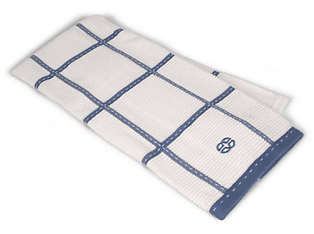 Calphalon 17x30-in. Terry Towel: Blueberry Check