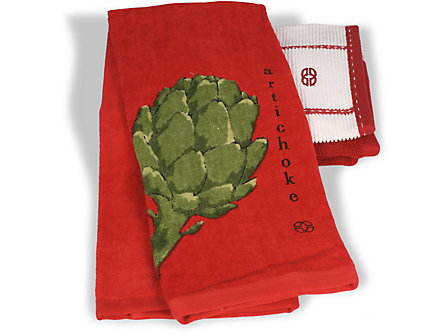 Calphalon 17x30-in. Kitchen Towel: Artichoke
