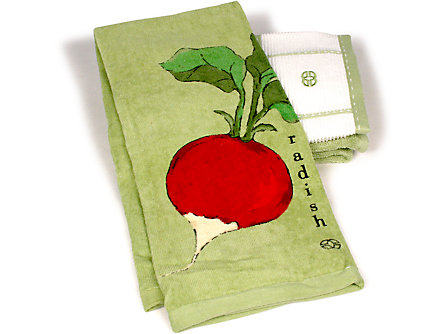 Calphalon 17x30-in. Kitchen Towel: Radish