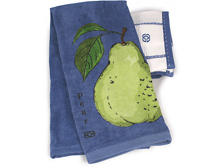 Calphalon 17x30-in. Kitchen Towel: Pear