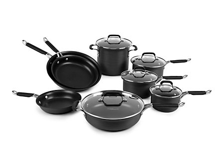 Kitchen Essentials Hard Anodized 13 Piece Set