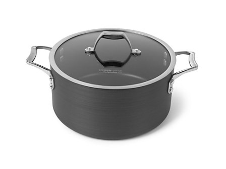 Kitchen Essentials Aspire Hard Anodized Nonstick 6 Qt. Stock Pot