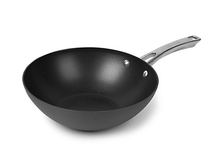 "Kitchen Essentials Aspire Hard Anodized Nonstick 10"" Stir Fry"