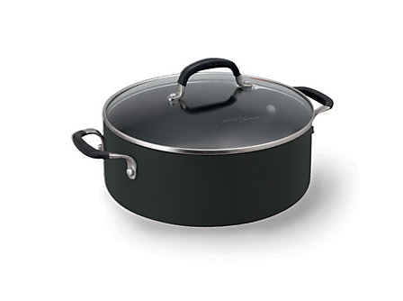 Simply Calphalon Enamel 5-qt. Chili Pot