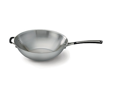 Simply Calphalon Stainless 12-in. Stir Fry Pan