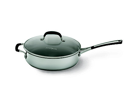 Simply Calphalon Stainless 3-qt. Saute Pan