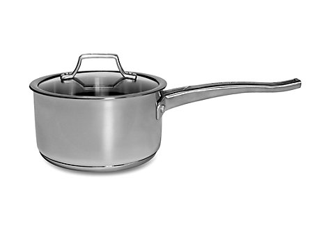 Cooking with Calphalon Refined Stainless 2 Qt. Sauce Pan with cover