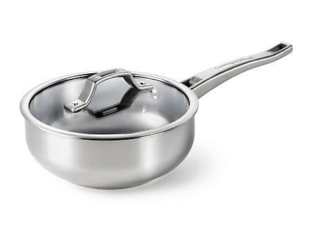 Cooking with Calphalon Refined Stainless 2 Qt. Chef's Pan