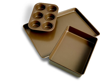 Simply Calphalon Nonstick Bakeware Bakeware 3-pc. Bakeware Set