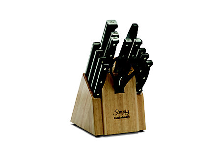 Calphalon Simply Cutlery 16-pc. Knife Block Set