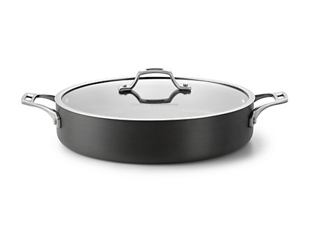 Cooking with Calphalon Refined Hard Anodized 5 Qt. Sauteuse