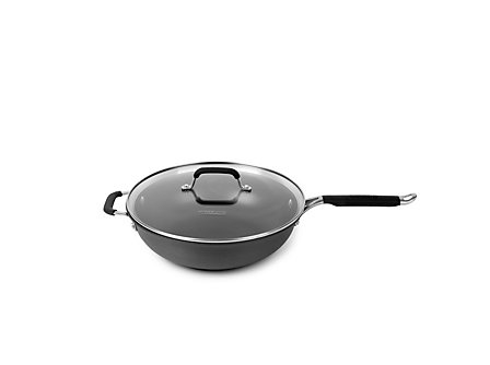 Kitchen Essentials Hard Anodized 3 Qt. Chef's Pan