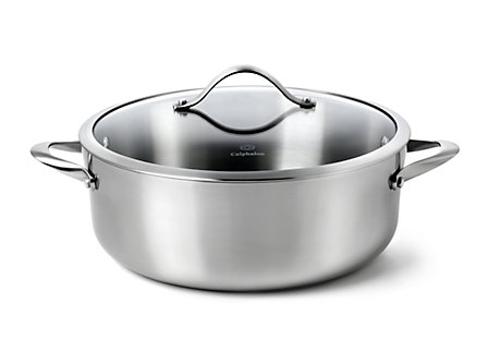 Calphalon Contemporary Stainless 8-qt. Dutch Oven