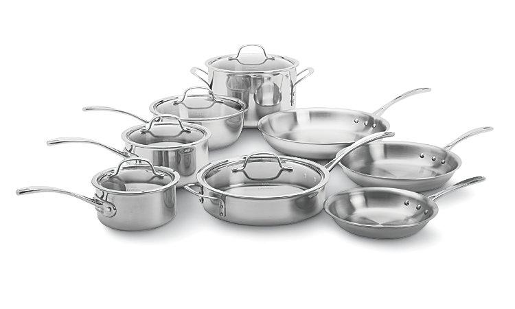 Calphalon stainless steel cookware sale 2014