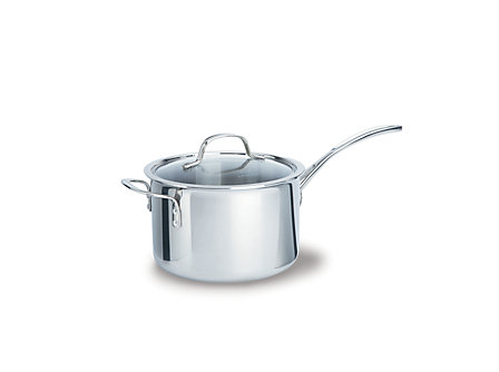 Calphalon Tri-Ply Stainless Steel 4.5-qt. Sauce with Cover