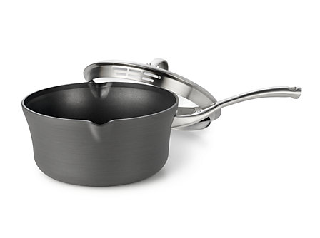 Calphalon Contemporary Nonstick 3.5-qt. Pour and Strain Sauce Pan