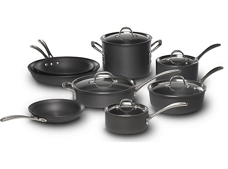 Calphalon Commercial Hard-Anodized 13-pc. Cookware Set