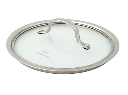 Calphalon Tri-Ply Stainless Steel 4/2.5-qt. Sauce Pan and Shallow Pan Lid
