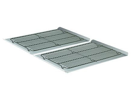 Calphalon Nonstick Bakeware 4-pc. Large Cookie Sheet & Cooling Rack Set