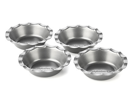 Calphalon Nonstick Bakeware 4-pc. Mini Pie Pan Set