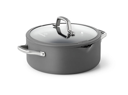 Simply Calphalon Easy System 5-qt. Dutch Oven: Gray