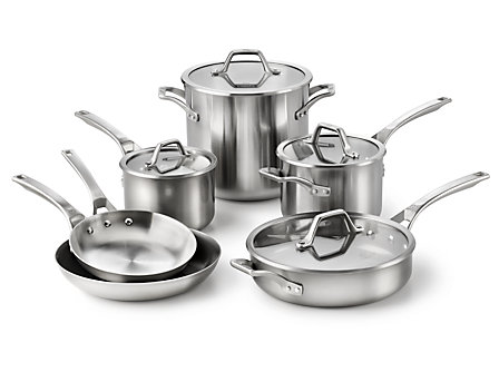 Calphalon AccuCore 10-pc. Cookware Set