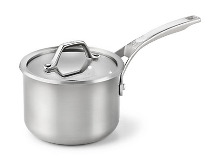 Calphalon AccuCore 2-qt. Sauce Pan with Cover: Stainless Steel