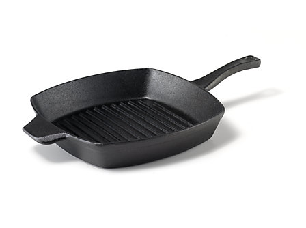 Calphalon 10-in. Pre-Seasoned Cast Iron Grill Pan