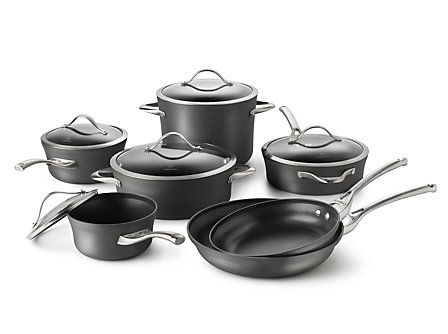 Calphalon Contemporary Nonstick 12-pc. Cookware Set