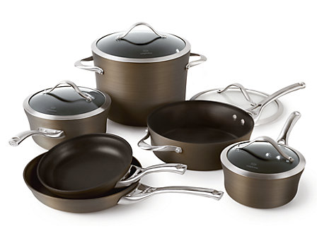 Calphalon Contemporary Bronze Nonstick 10-pc. Cookware Set