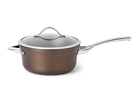 Calphalon Contemporary Bronze Nonstick 4.5-qt. Sauce Pan