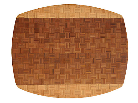 Totally Bamboo African Collection 17.3x13.75-in. Congo Cutting Board
