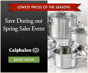Calphalon Spring Sales Event