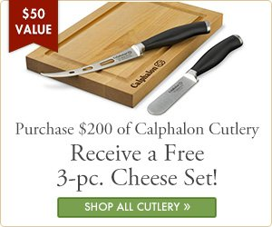 Bonus Cheese Knife Set from Calphalon