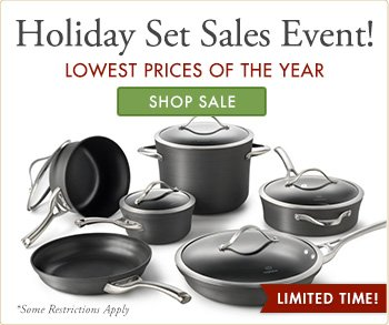 Holiday Set Sales Event