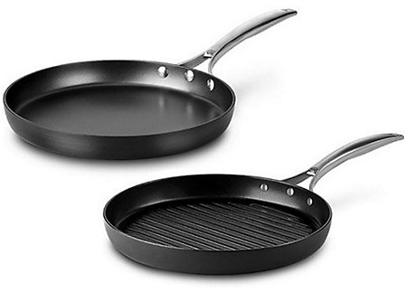 Calphalon Unison Nonstick 2-pc. Grill Pan and Griddle Set