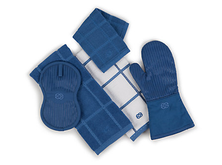 Textiles Blue Ice Thumb Mitt