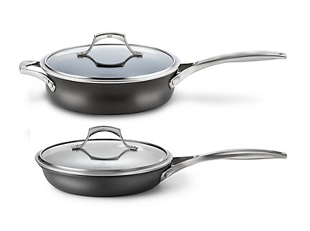 Calphalon 4-pc. Slide and Saute Combo with Lids