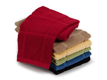 Textiles Pink Grapefruit Flat Kitchen Towel