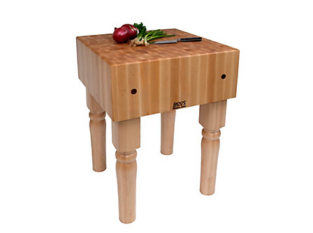 John Boos & Co. Boos Blocks 24x24x10-in. Butcher Block: Natural