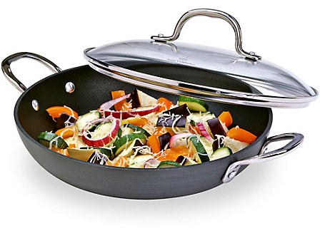 Calphalon Classic Nonstick 10-in. Everyday Pan with Glass Lid