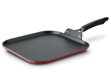 """Kitchen Essentials Styleware Red 11"""" Griddle"""