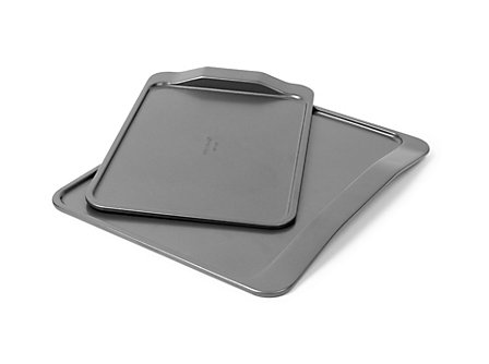 Kitchen Essentials Bakeware Medium & Large Cookie Sheet Combo