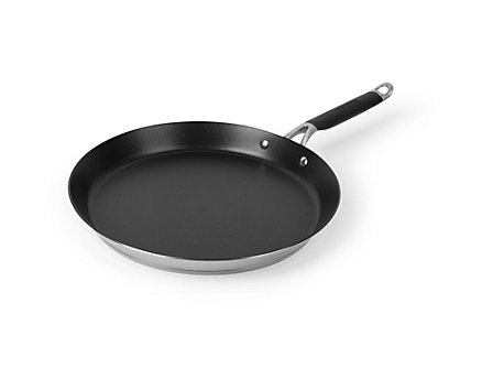 "Kitchen Essentials Hard Anodized 12"" Round Griddle"