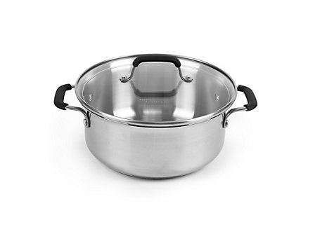 Kitchen Essentials Stainless 5 Qt. Dutch Oven