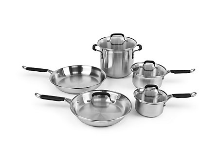Kitchen Essentials Stainless 9 Piece Set