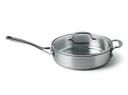 Kitchen Essentials Stainless 3 Qt. Covered Casserole