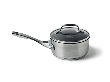 Kitchen Essentials Stainless 1 Qt. Sauce Pan- Nonstick