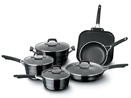 Kitchen Essentials Styleware Black 10 Piece Set